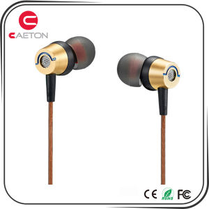 Earphone for Promotioanl Metal Wired Headphone with 3.5mm Jack pictures & photos