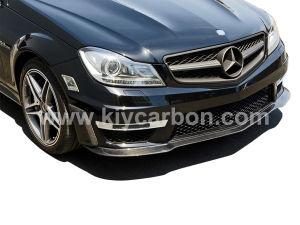Carbon Fiber Front Lip Spoiler Car Parts for Benz pictures & photos