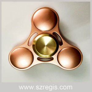 2017 Newest Toys/Gold Plating Metal Hand Spinner/Finger Release Stress Gyro pictures & photos