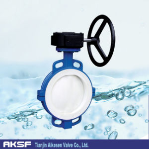 Wafer Type Butterfly Valve in Cast Iron/ Ductile Iron D71X pictures & photos