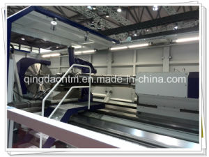 High Quality Cheap Price Horizontal CNC Lathe for Wind Power Shaft (CG61160) pictures & photos