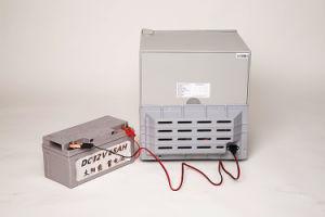 Purswave Bcd-158 158L DC12V24V Solar Fridge Vehicle Refrigerator Double Door Freezer & Cooler pictures & photos