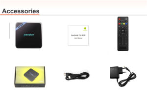 2017 Cheapest 2g/16g TV Box Pendoo X8 Mini Amlogic S905W Android TV Box with IR and Mount Option pictures & photos