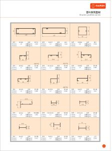 Good Quality Aluminium Extrusion Louver Profile pictures & photos