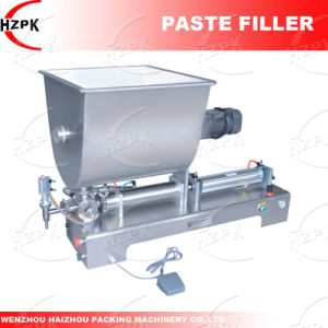 Single Head Paste Filling Machine Paste Filler with Mix From China pictures & photos