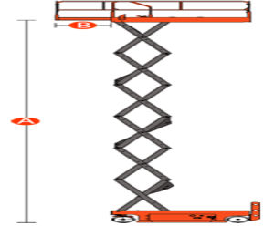High Quality Gtjz1012 Scissor Lift with Max Working Height 12m pictures & photos