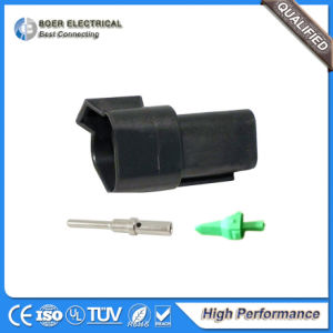 Auto Wire Harness Accessories Deutsch Dt Connector Black 3poles Dt04-3p-E004 pictures & photos