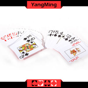 100% Plastic Texas Holdem Club Dedicated Poker Playing Cards Scrub Characters PVC Card (YM-PC04) pictures & photos