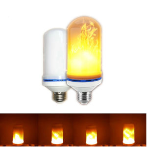E27 E26 2835 LED Flame Effect Fire Bulbs pictures & photos