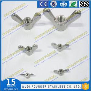 Stainless Steel AISI 304 or AISI316 Wing Nut pictures & photos