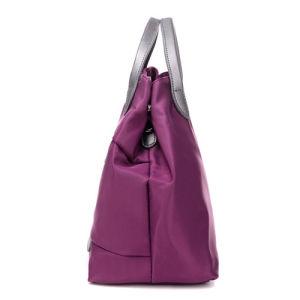 Outdoor Fashion Purple Beach Handbags Shopping Women′s Tote Bag pictures & photos