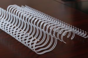 Book Binding Steel Spiral Ring Wire pictures & photos