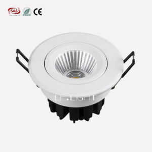 Aluminium Recessed LED COB Downlight 12W pictures & photos