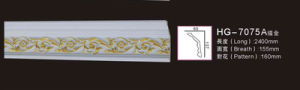 PU Ceiling Medallion for Interior Decoration/ Polyurethane Cornice Moulding pictures & photos