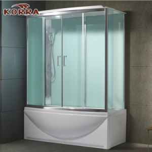 Simple Bathtub with Shower Panel and Shower Room (K-520N) pictures & photos