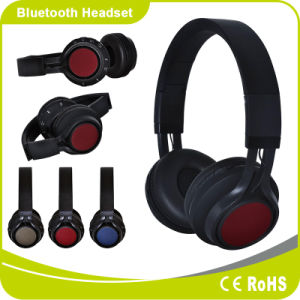Good Source of Materials Over Ear Foldable Headband Wireless Headset pictures & photos