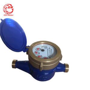Multi Jet Vane Wheel Dry Type Brass Water Meter pictures & photos
