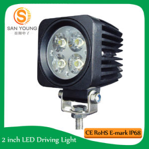 12W LED Work Light 3 Inch for Vehicle Car Truck Offroad Auto LED Work Light Lamp pictures & photos