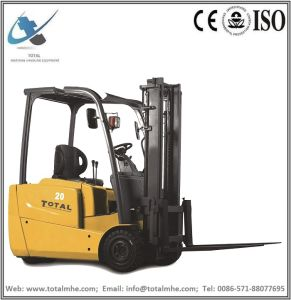 1.6 Ton 3-Wheel Electric Forklift pictures & photos