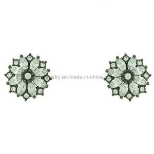 Fashion Style Cheap Brass Earrings Stud with CZ (KE3182) pictures & photos