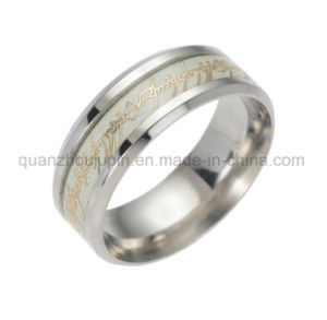 OEM Fashion Stainless Steel Glow at Night Fluorescence Ring pictures & photos