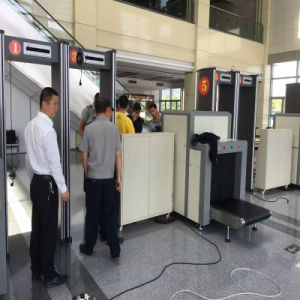 X Ray Baggage Luggage Scanner Checking Detector pictures & photos