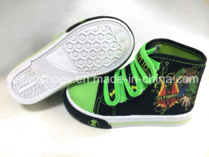 Newest Children Injection Canvas Shoes Sport Footwear pictures & photos