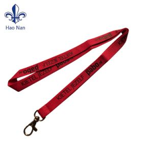 Safety Breakaway Buckle Silkscreen Blue Polyester Lanyard pictures & photos