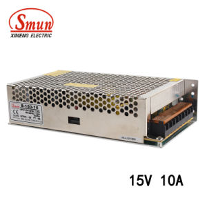 Smun S-150-15 150W 15V 10A Single Output Switching Power Supply pictures & photos