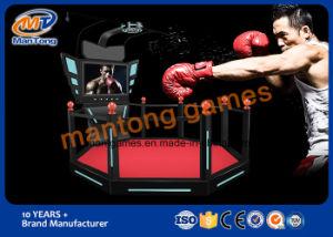 Vr Walker Simulator, Vr Super Hero Gun Battle 9d Simulator Big Platform pictures & photos