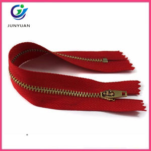 High Quality Brass Teeth Factory Direct Metal Zipper pictures & photos
