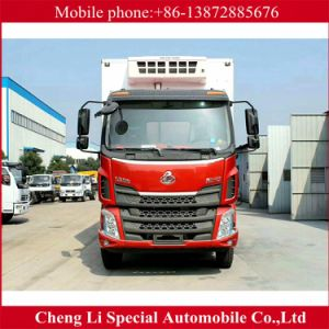 China 15tons 10m Refrigerator Van Truck for Sale pictures & photos