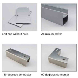 4238 Aluminium Channel LED Light Bar Extrusion Aluminium Profile pictures & photos