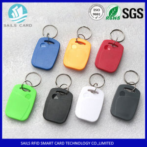 High Quality ABS Frosted Contactless RFID Key Tag pictures & photos