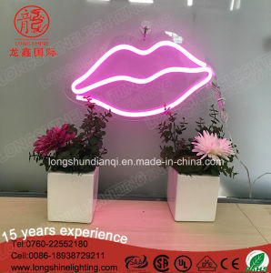 New Angle Wings Wall Home Decor Handcrafted Luz Neon Sign for Decoration pictures & photos
