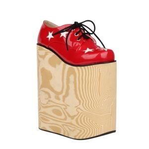Polyurethane Resin for Shoe Sole of Wood-Imitating Zg-P-9525/Zg-I-9690 pictures & photos