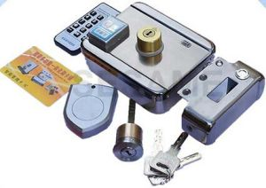 Access Control IC or MIFARE Reader Bulit in Electric Control Lock (SEC4C) pictures & photos