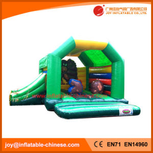 Jungle Animal Inflatable Moonwalk Combo with Slide Toys (T3-022) pictures & photos