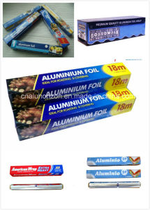 8011 1235 3003 SGS Certified Household Aluminum Foil Roll pictures & photos