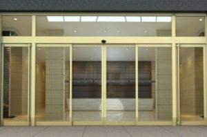 Automatic Sliding Door with SGS, ISO9001: 2008 and Ce Approved pictures & photos
