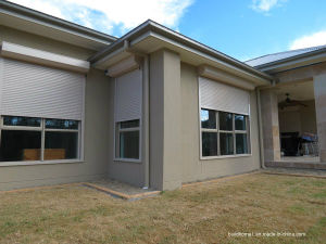 High Impact Proof Metallic Window Roller Shutters for Residential Homes pictures & photos
