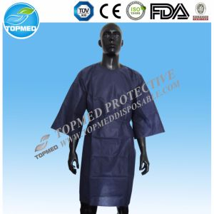 Nonwoven Medical Surgeon Clothes, Hospital Surgical Gown, Disposable Isolation Gown pictures & photos