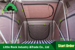 Little Rock Popular Roof Top Tent Foldable Tent for Camping pictures & photos