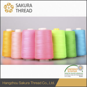 Flame Retardant Polyester Embroidery Thread with Oeko-Tex100 1 Class pictures & photos