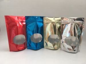 Demetallized Stand up Pouches Metallized Pouches pictures & photos
