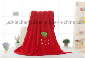 Baby Blanket- Coral Fleece- Animal Shape -Bear pictures & photos