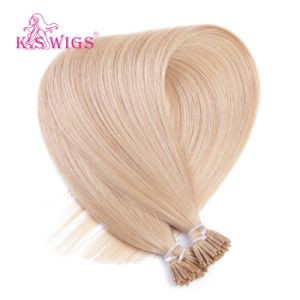K. S Wigs I Tip Hair Color #14 Virgin Remy Human Hair Extension I Tip Hair pictures & photos