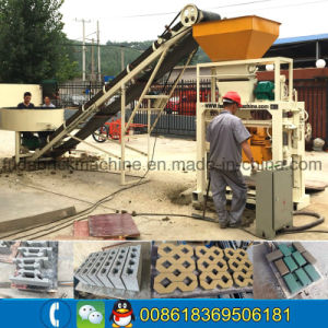 Popular Brand Brick Block Making Machine with High Quality pictures & photos