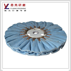 Yiliang Copper Cloth Cotton Fold Airway Buffing Wheel pictures & photos