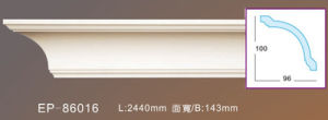 Polyurethane Decoration Products/PU Foam Cornice for Decoration pictures & photos